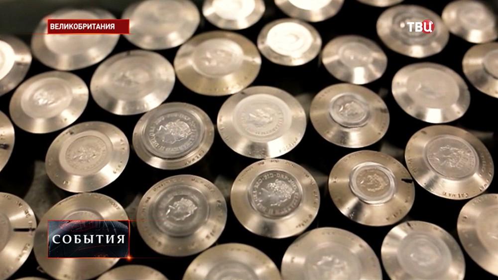 Чеканка монет в Великобритании