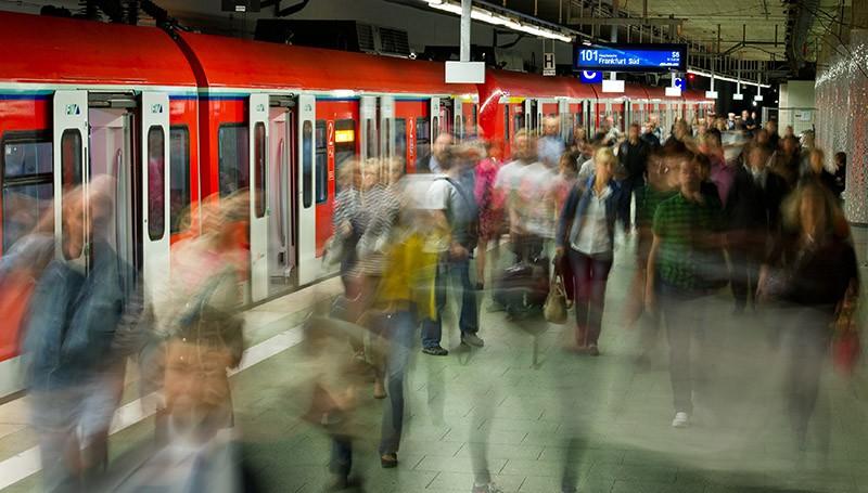 Вокзал в Германии