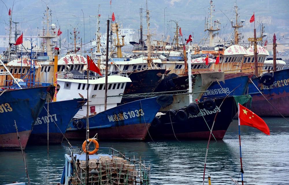 Порт в Китае