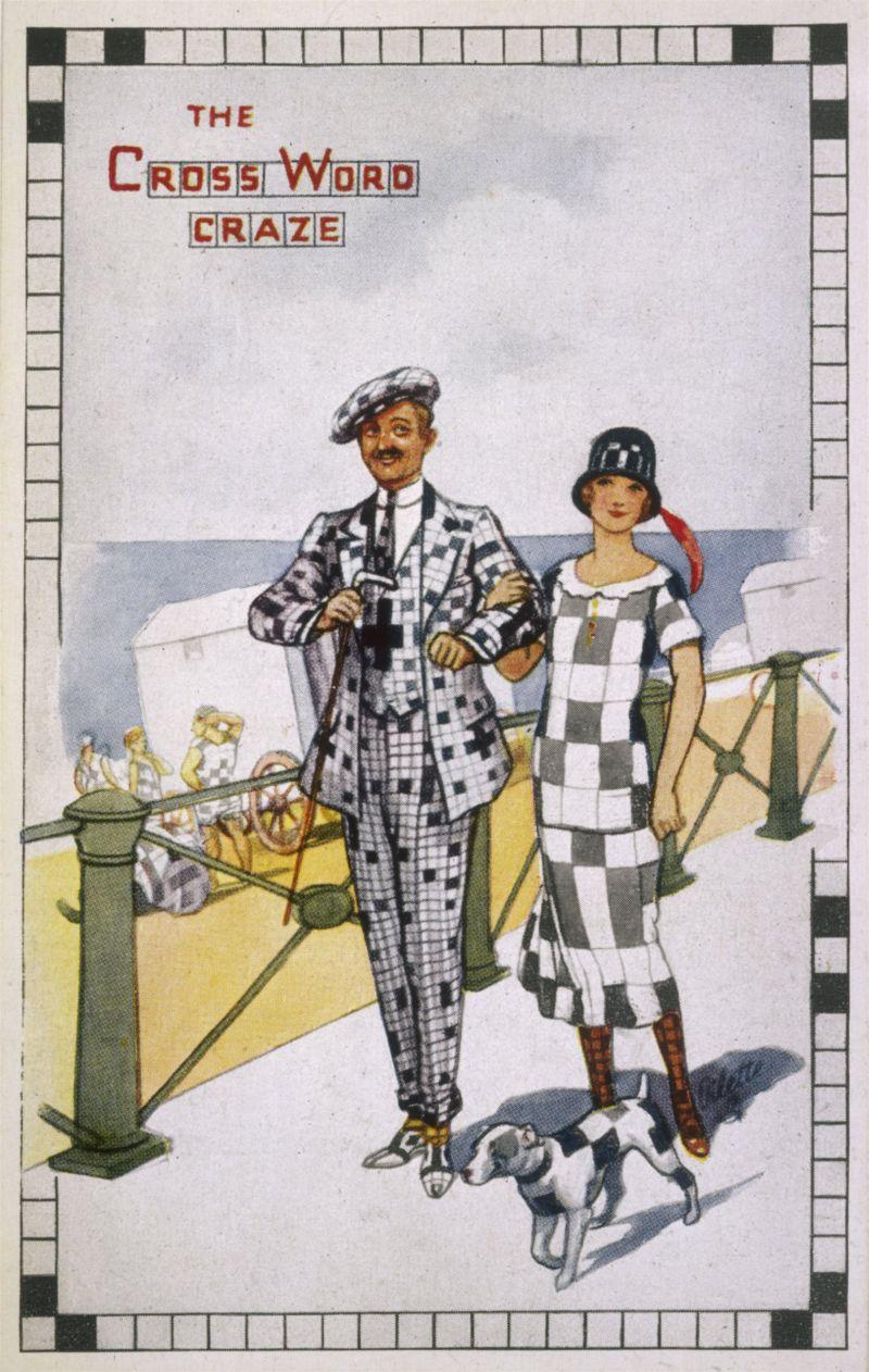 Журнал The Cross Word Craze, середина 1920-х годов