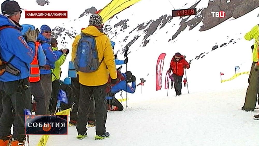 Забег на вершину Эльбруса