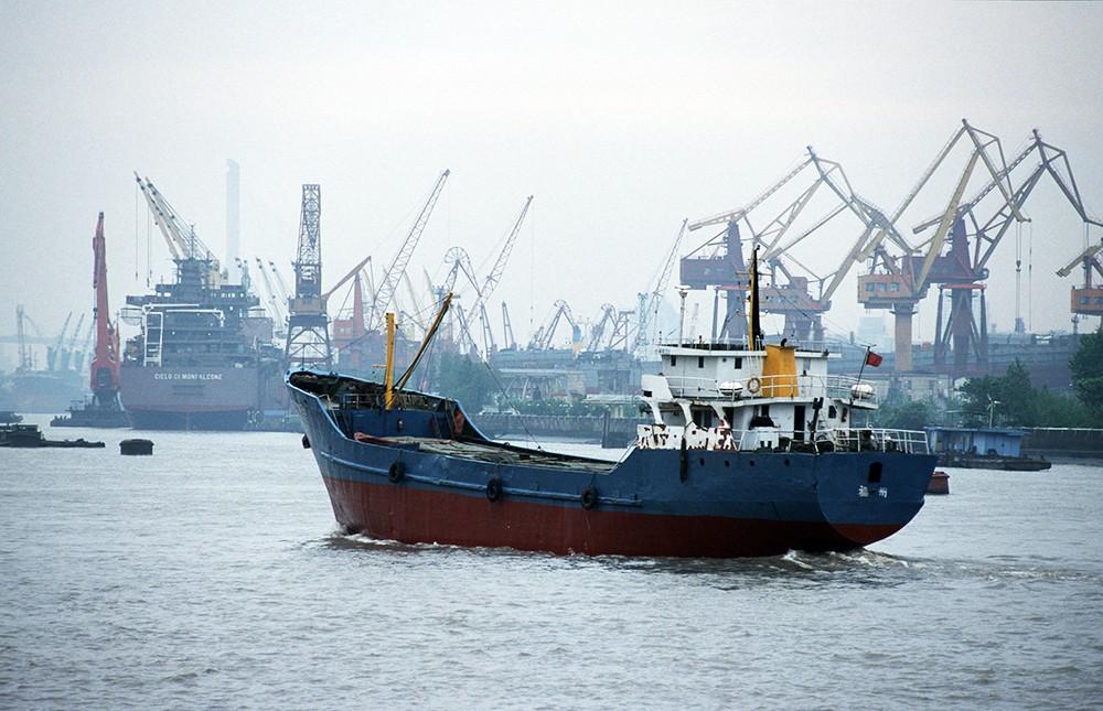 Морской порт в Китае