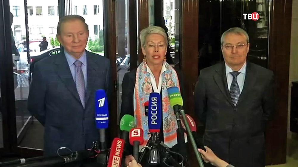 Встреча в Минске Контактной группы