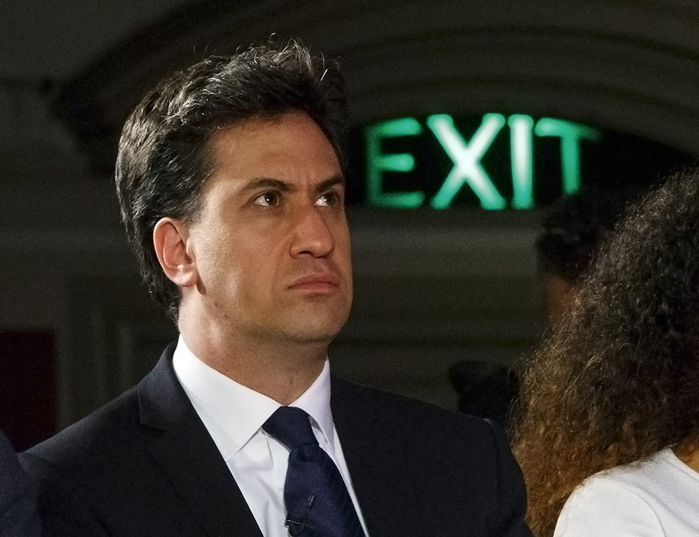 Лидер партии лейбористов Британии Эд Милибэнд