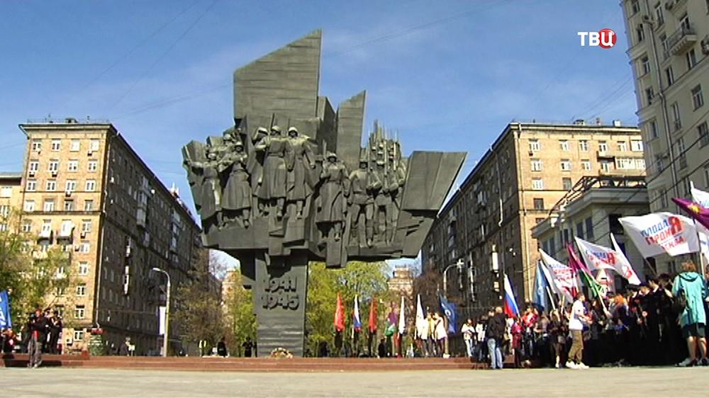 Митинг, посвященный 70-летию Победы