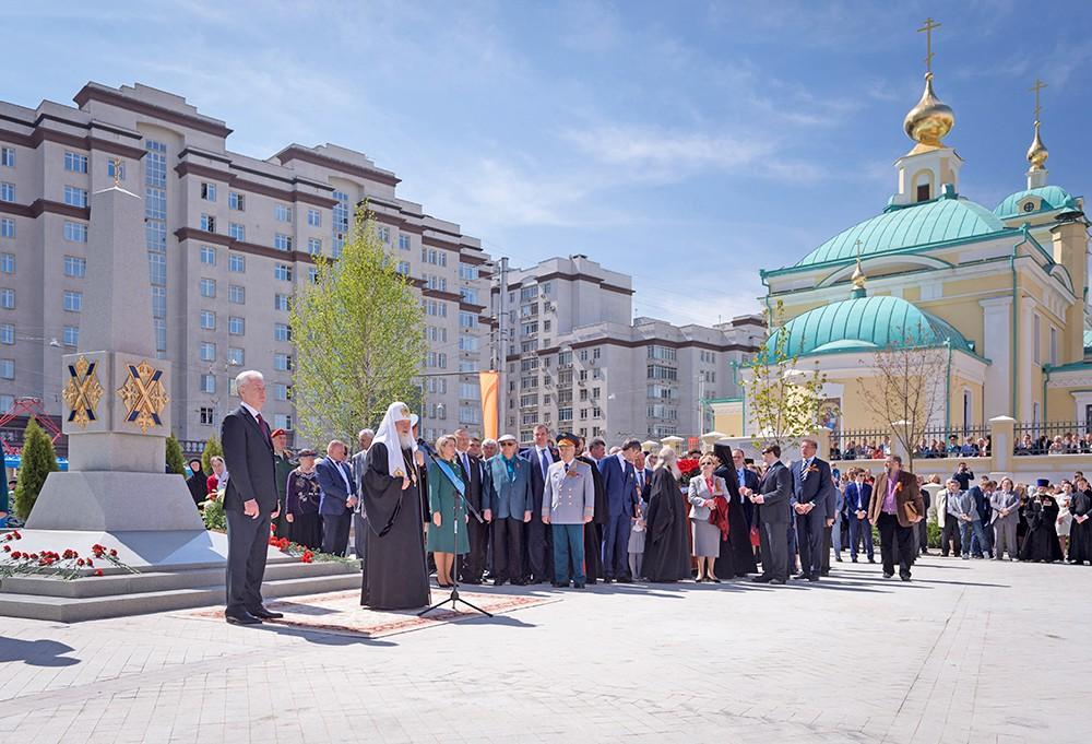 Торжества по случаю освящения храма Преображения Господня