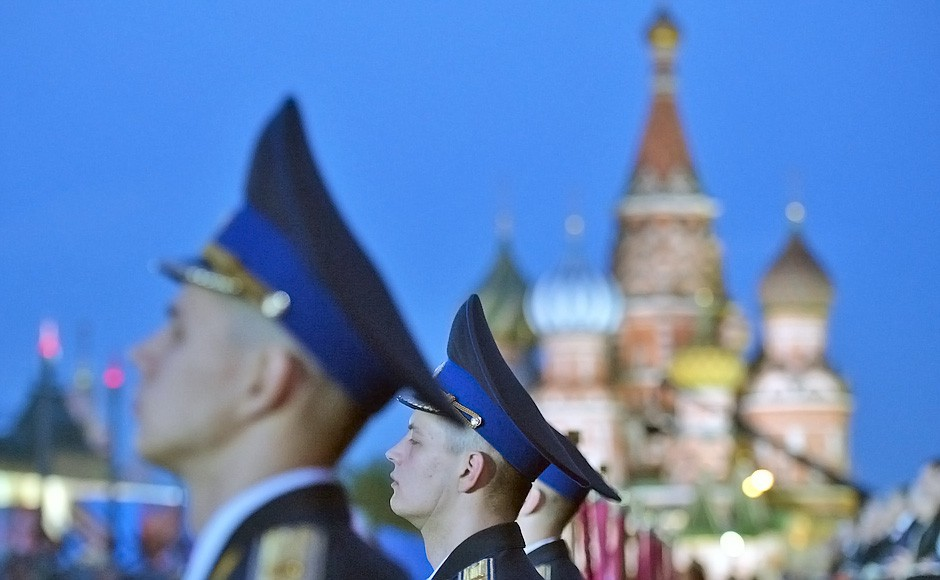 Торжественные мероприятия по случаю Дня Победы на Красной площади