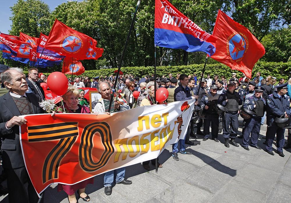 Празднования Деня Победы в Одессе