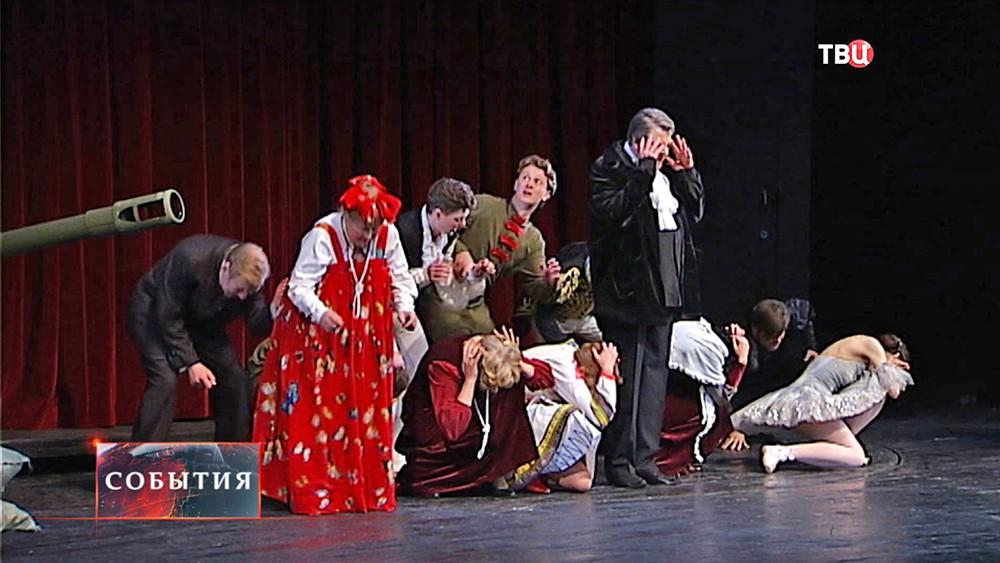 Спектакль в театре Сатиры