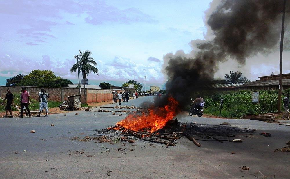 Беспорядки в Бурунди