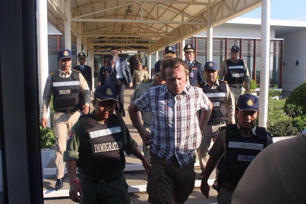 Депортация Сергея Полонского из Камбоджи