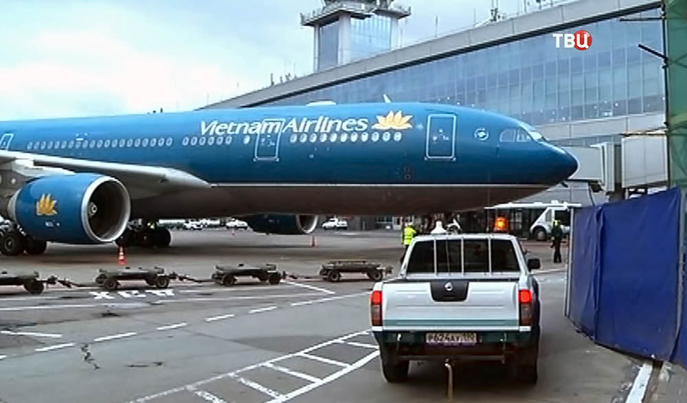 Самолет Vietnam Airlines