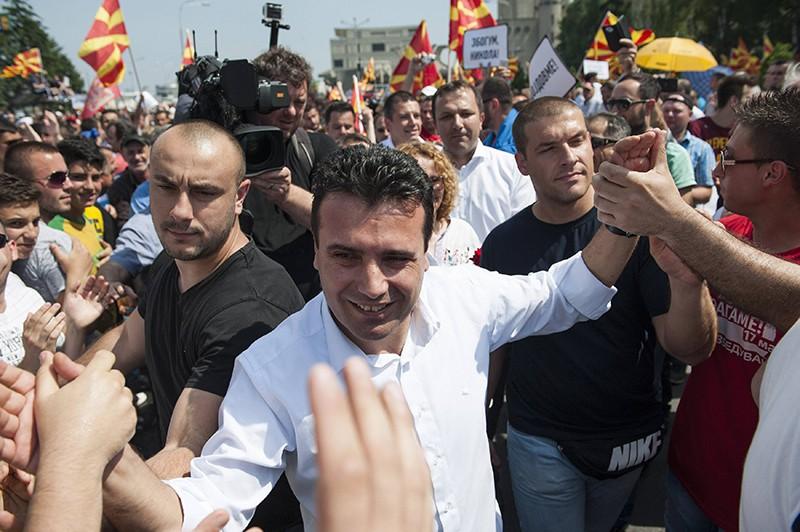 Лидер СДСМ Зоран Заев