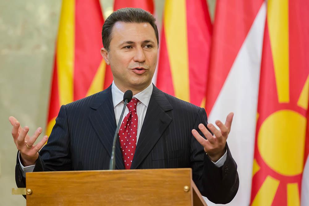 Премьер-министр Македонии Никола Груевский