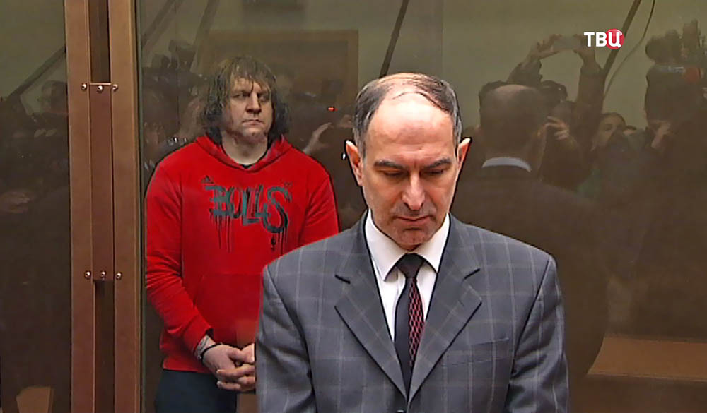 Адвокат Александра Емельяненко на заседании суда