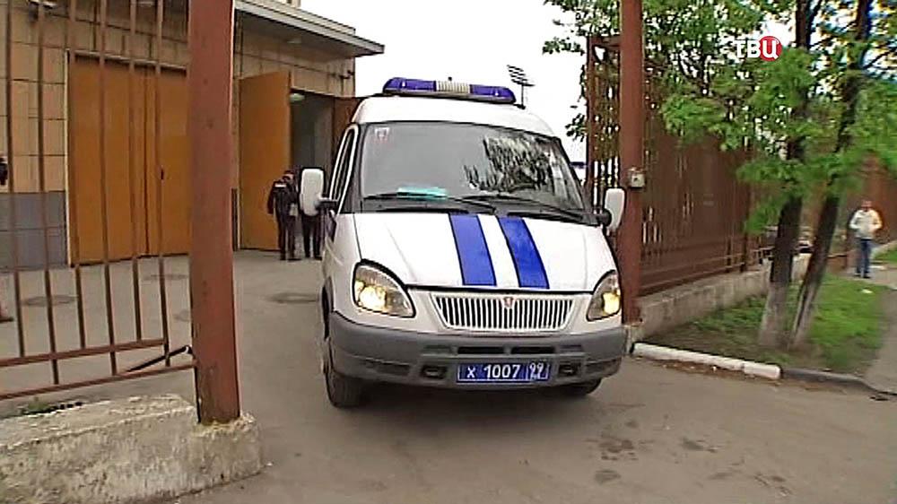 Машина конвойной службы полиции