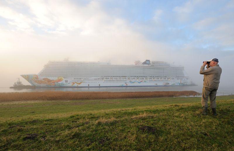 Норвежский круизный лайнер
