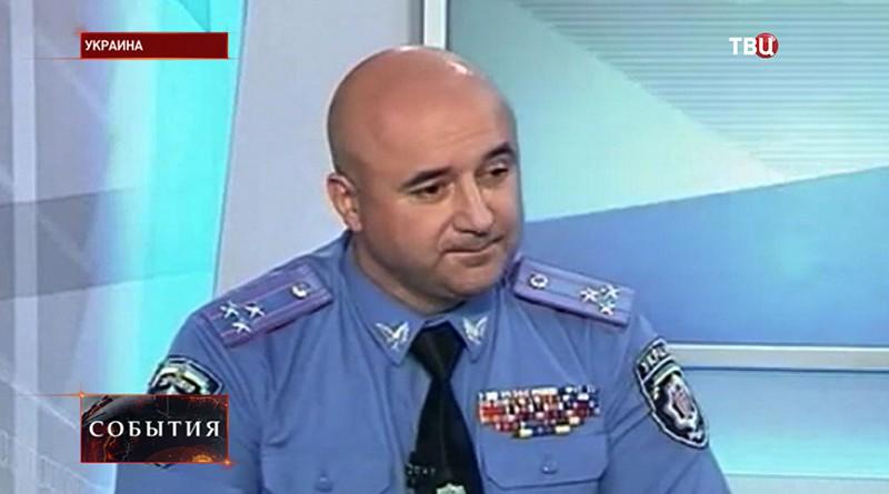 Главный автоинспектор Украины Александр Ершов