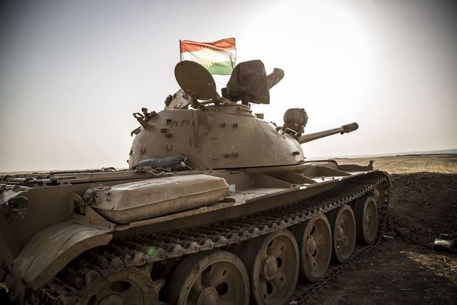 Танк Т-55 в Ираке