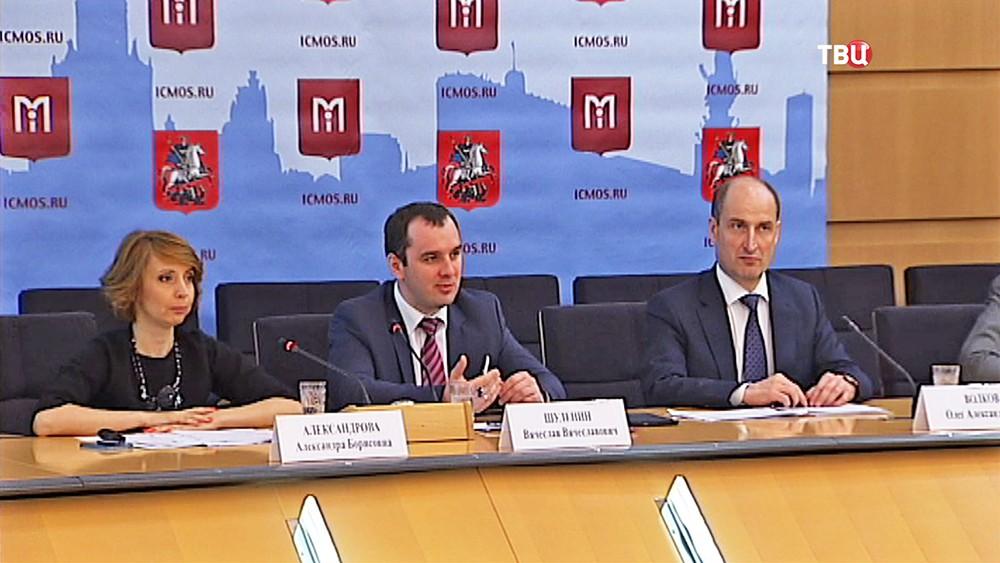 Пресс-конференция на тему конкурса на должности глав районных управ Москвы