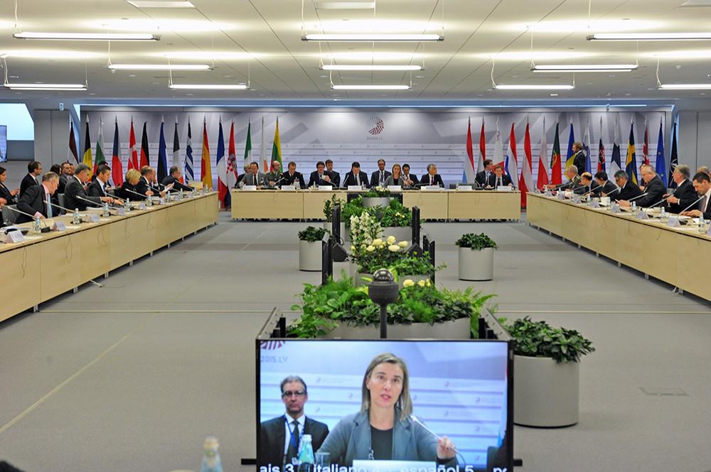 """Саммит """"Восточное партнерство"""" в Латвии"""