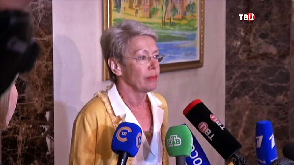 Представитель ОБСЕ Хайди Тальявини