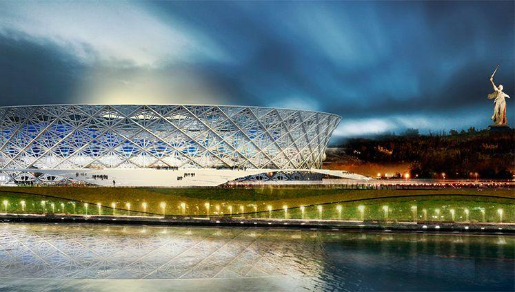 Проект футбольного стадиона в Волгограде