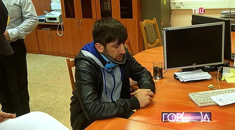 Участник ДТП Дени Мирзоев