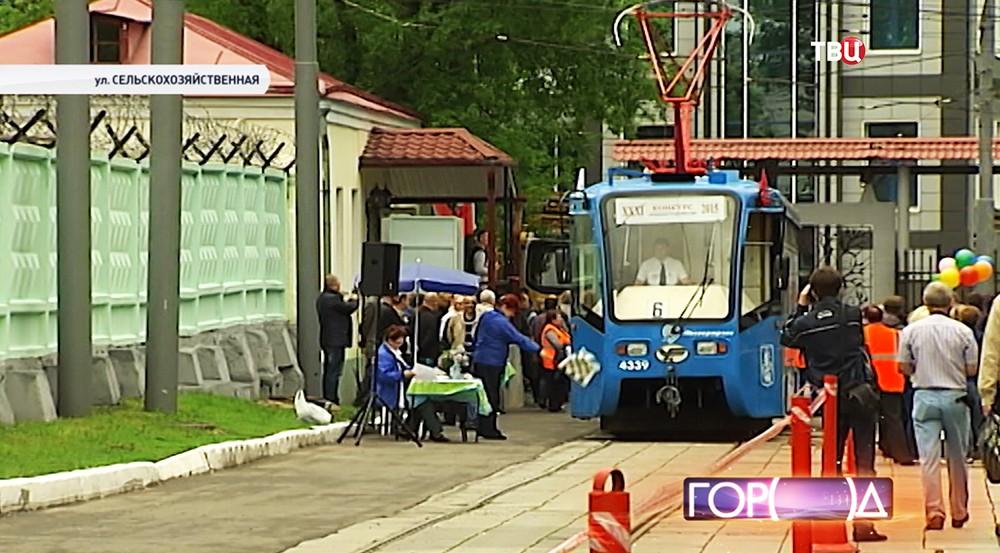 """Конкурс """"Московские мастера"""" среди водителей трамвая"""