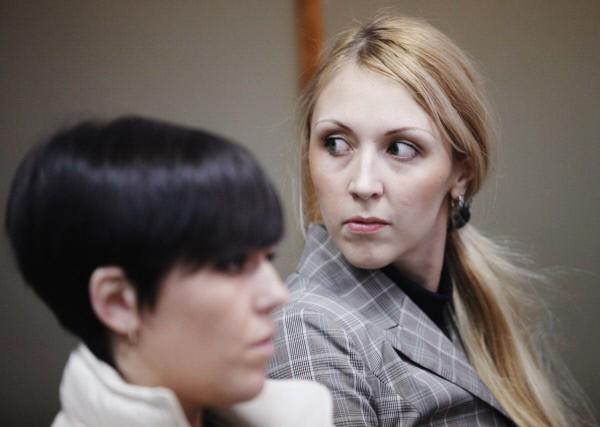 Анна Шавенкова в зале судебных заседаний
