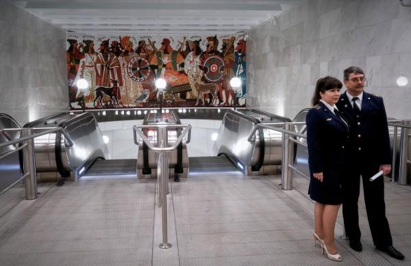 """Открытие станции метро """"Спортивная"""" в Санкт-Петербурге"""