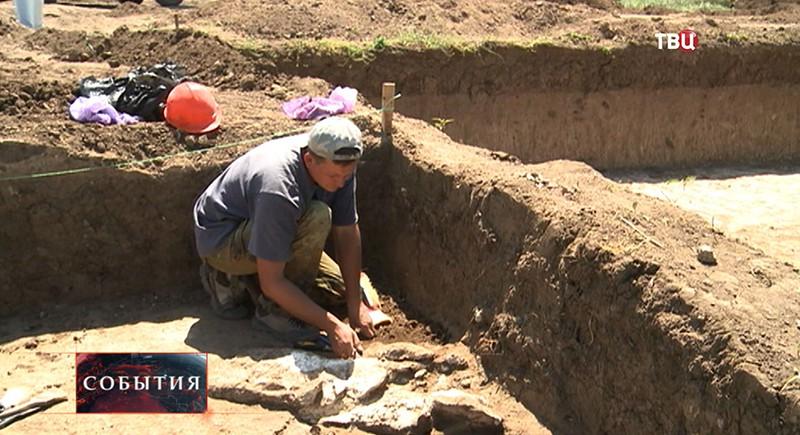 Археологи на Таманском полуострове
