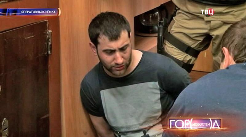 Задержанный за убийство полицейского