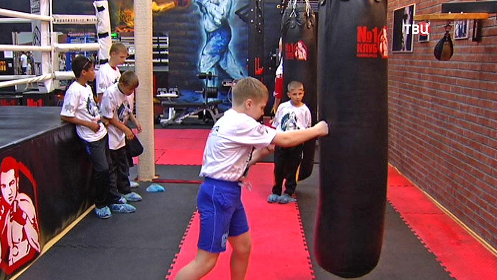 Детская боксёрская секция