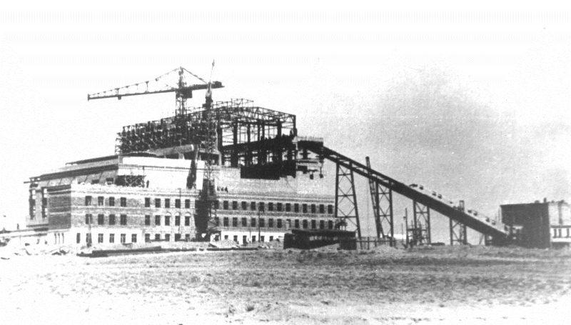 Строительство космодрома Байконур