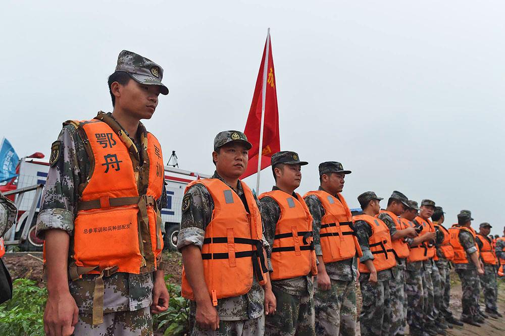 Китайские спасатели