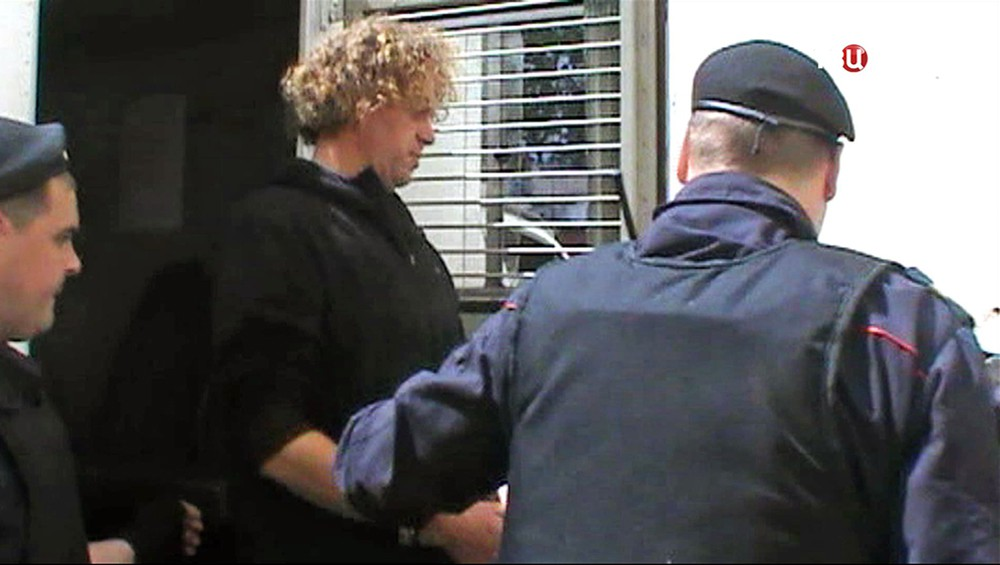 Сергей Полонский под арестом