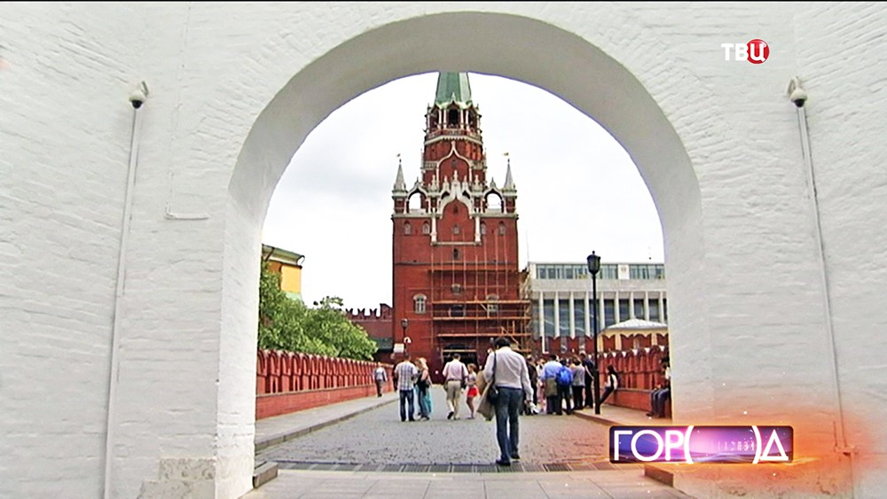 Реставрация Троицкой башни