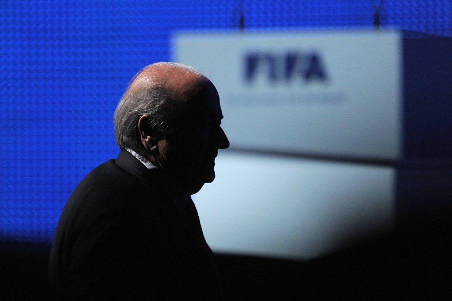 Президент ФИФА Йозеф Блаттер