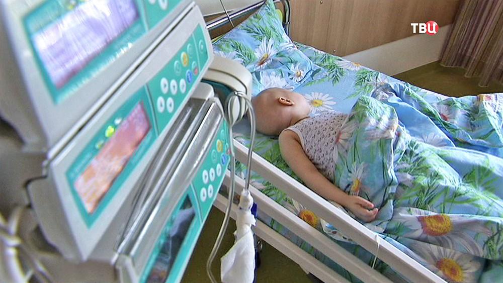 Ребенок лежит в больнице