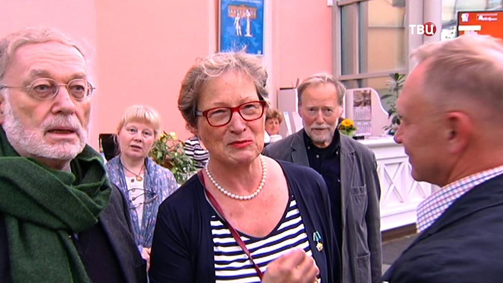 Праправнучка Пушкина и потомок царской семьи Романовых баронесса Клотильда фон Ринтелен