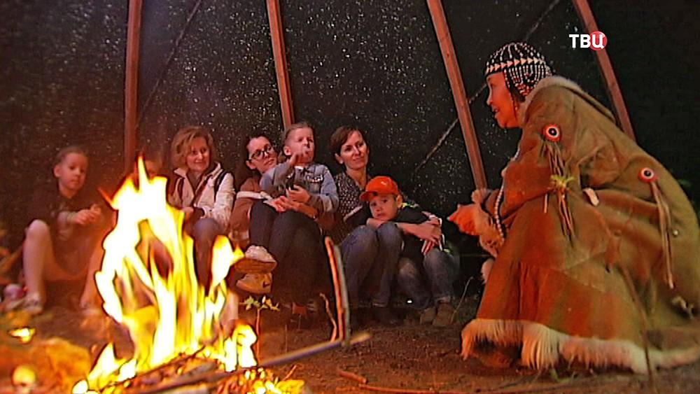 Этнический фестиваль для детей