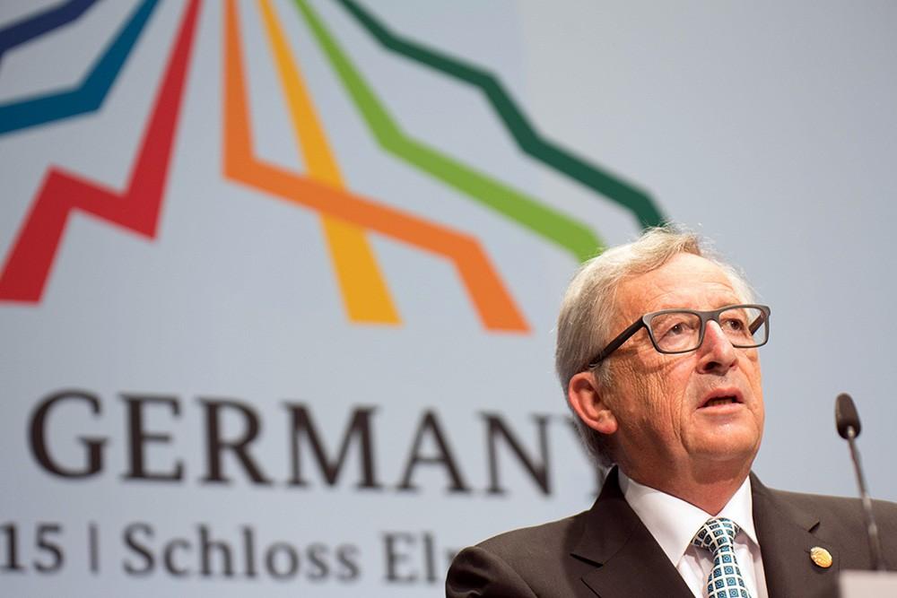 Председатель Еврокомиссии Жан-Клод Юнкер на саммите G7
