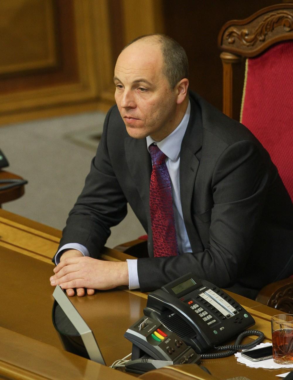 Первый вице-спикер Верховной Рады Украины Андрей Парубий