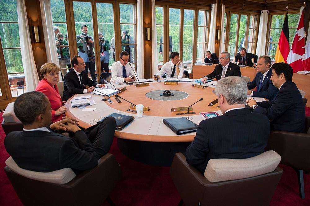 Лидеры стран G7