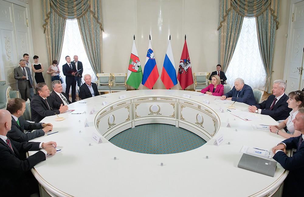 Москва и Любляна подписали программу сотрудничества
