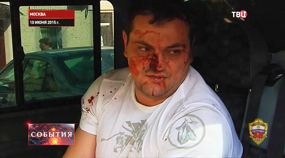 Задержанный участник преступной группировки