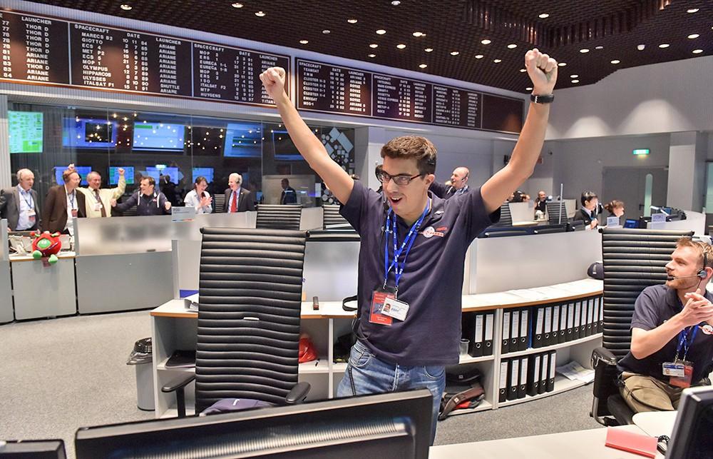 ЦУП Европейского космического агентства