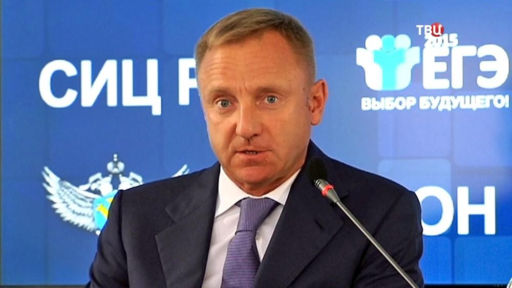 Министр образования Дмитрий Ливанов