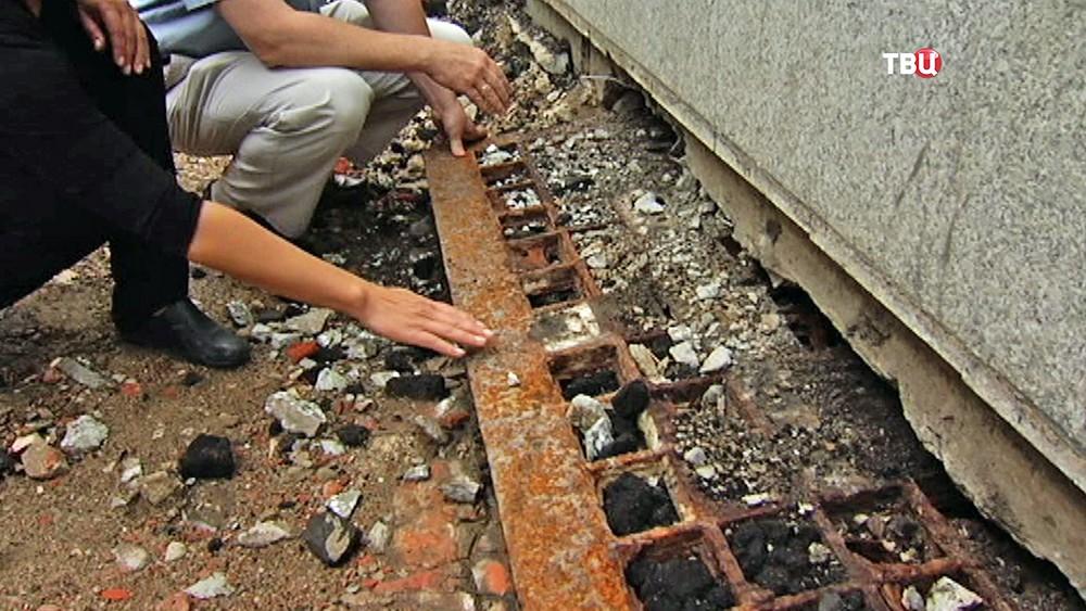 Старинные световые окна найдены на Мясницкой